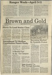 1987 Brown and Gold Vol 68 No 12 April 3, 1987