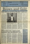 1987 Brown and Gold Vol 69 No 03 October 1, 1987