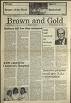 1987 Brown and Gold Vol 69 No 07 November 30, 1987