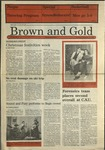 1987 Brown and Gold Vol 69 No 08 December 10, 1987