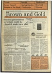 1988 Brown and Gold Vol 69 No 09 January 28, 1988