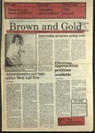 1988 Brown and Gold Vol 69 No 10 February 11, 1988