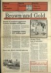 1988 Brown and Gold Vol 69 No 14 April 7, 1988