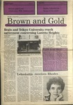 1989 Brown and Gold Vol 70 No 09 January 19, 1989