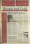 1989 Brown and Gold Vol 70 No 11 February 16, 1989