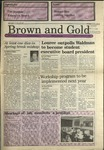 1989 Brown and Gold Vol 70 No 13 March 23, 1989