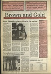 1989 Brown and Gold Vol 70 No 15 April 20, 1989