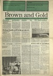 1989 Brown and Gold Vol 71 No 07 November 28, 1989