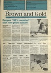 1990 Brown and Gold Vol 71 No 09 January 25, 1990
