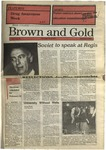 1990 Brown and Gold Vol 71 No 10 February 8, 1990