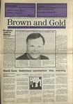 1990 Brown and Gold Vol 71 No 11 February 22, 1990