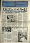 1990 Brown and Gold Vol 72 No 01 August 30, 1990