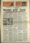 1990 Brown and Gold Vol 72 No 05 October 25, 1990