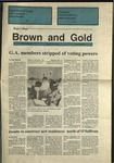 1991 Brown and Gold Vol 72 No 13 March 28, 1991