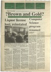 1991 Brown and Gold Vol 73 No 02 September 12, 1991