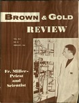 1962 Brown & Gold Review Vol  XLV No 3 February, 1962