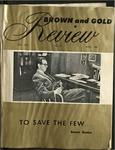 1962 Brown & Gold Review Vol  XLV No 5 April, 1962