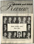1962 Brown & Gold Review Vol  XLVI No 3 November, 1962