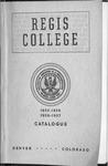 1955-1956 1956-1957 Regis College Catalog