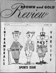 Brown & Gold Review Vol  XLVI No 2 October, 1962