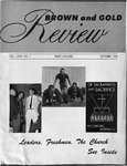 Brown & Gold Review Vol  XLVII No 1 October, 1963