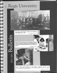 2002-2003 Regis University Bulletin