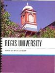 2009-2010 Regis University Bulletin