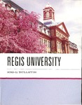 2010-2011 Regis University Bulletin