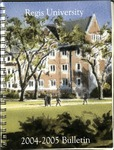 2004-2005 Regis University Bulletin
