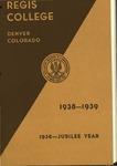 1938-1939 Regis College Catalog