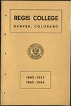 1942-1943, 1943-1944 Regis College Catalog