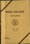 1944-1946 Regis College Catalog