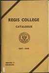 1947-1948 Regis College Catalog