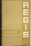 1957-1958, 1958-1959 Regis College Catalog