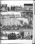 1999-2000 Regis University Bulletin