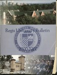 2000-2001 Regis University Bulletin