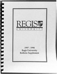 1997-1998 Regis University Bulletin