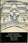 1975-1976 Regis College Bulletin