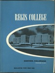 1967-1968 Regis College Bulletin