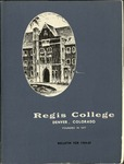 1964-1965 Regis College Bulletin