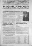 1995 Highlander Vol 77 No 14 January 25, 1995