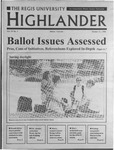 1996 Highlander Vol 79 No 7 October 31, 1996