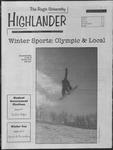 1998 Highlander Vol 80 No 17 February 16, 1998