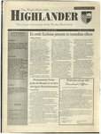 1999 Highlander Vol 82 No 7 December 6, 1999
