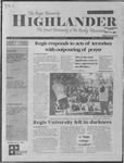 2001 Highlander Vol 84 No 1 September 17, 2001