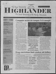 2001 Highlander Vol 84 No 2 October 1, 2001
