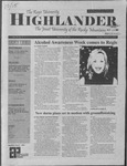 2001 Highlander Vol 84 No 3 October 15, 2001