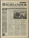 2001 Highlander Vol 84 No 4 October 29, 2001