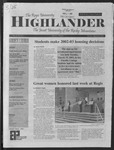 2002 Highlander Vol 84 No 10 March 25, 2002
