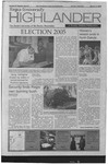 2005 Highlander Vol 87 Election Special March 15, 2005